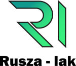 gradient logo black text